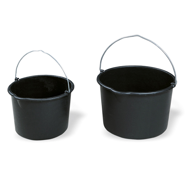 Black pvc bucket