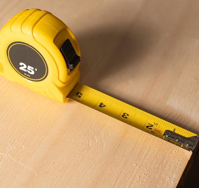 measuring tape yellow - black