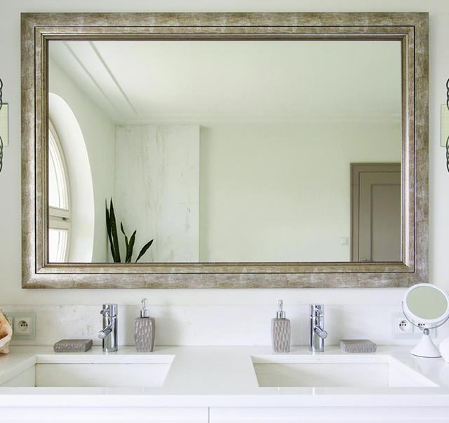 rectangular square mirror